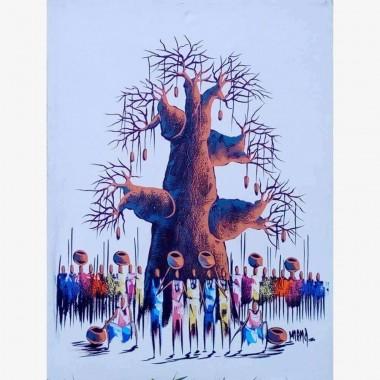 "Tableau ""Le Baobab""..."