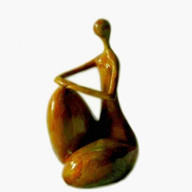 """Le penseur 2"": Sculpture..."
