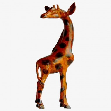 La Girafe, sculpture...